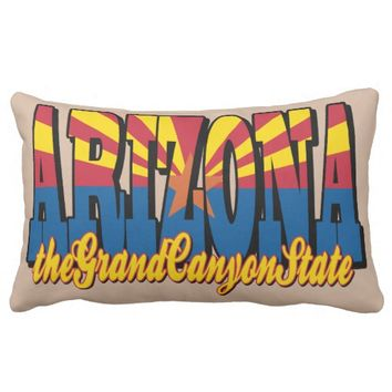 The Grand Canyon State Lumbar Pillow