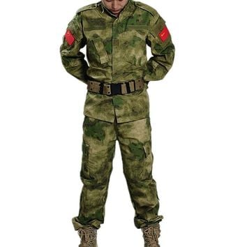 FG Military Tactical Cargo Pants Uniform Windproof Camouflage Military BDU Combat Uniform US Hunting Clothing Set