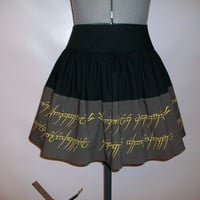 The Lord of the Rings: The Hobbit Inspired Skirt
