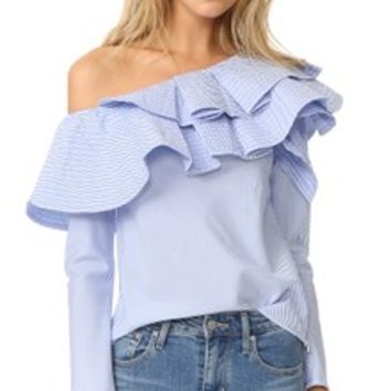 Three Layers Sleeve Top