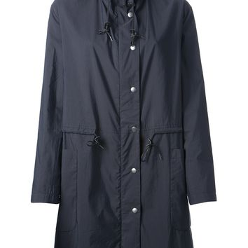 Theory Hooded Trench Coat