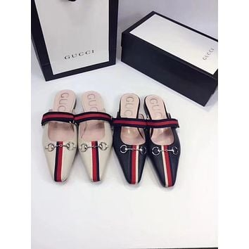 Gucci Women's Leather Sandals
