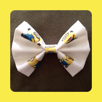 Despicable Me Minions Hair Bow