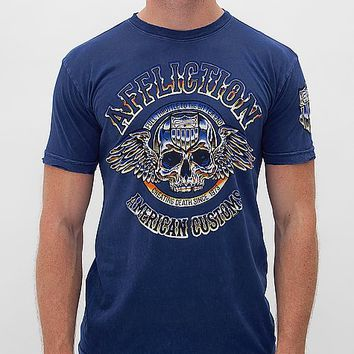 Affliction American Customs Brass Knuckles T-Shirt