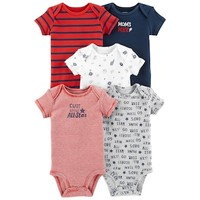 Baby Boy Carter's 5-pack Sports Graphic Bodysuits | null