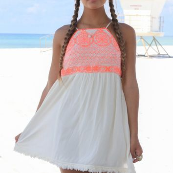 Valley Girl Woven Dress