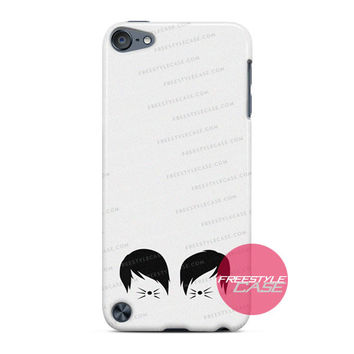 Phil and Dan Cat Whiskers Merch iPod Case Cover Series