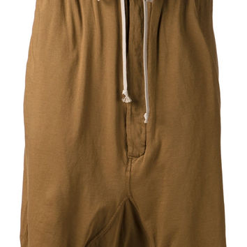 Rick Owens DRKSHDW | Drop Crotch Track Shorts