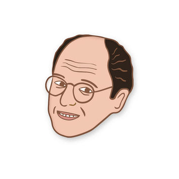 George Costanza pin