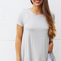 The Closer The Stripe Tee