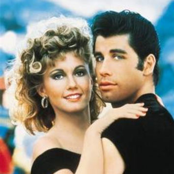 Grease Art No Text John Travolta Movie Poster 11x17 Mini Poster