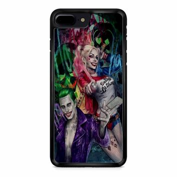 Joker And Harley Suicide Squad iPhone 8 Plus Case