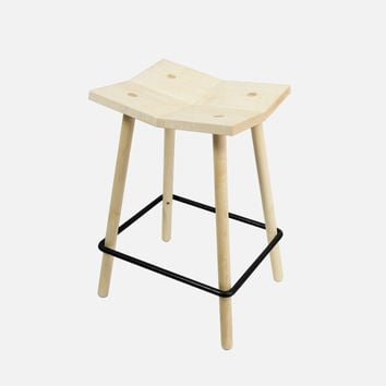 Mitre Stool - Counter / Natural