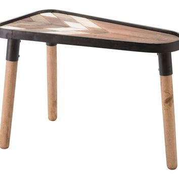 Arrow Table Small Brown