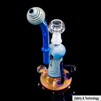 Water Pipes Bongs High Quality Thick Glass 5mm Oil Rigs Glass Bong Colorful Glass Water Bong