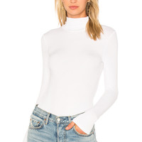 n:PHILANTHROPY Brooke Turtleneck Bodysuit in White
