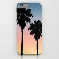 Sunset Palms iPhone & iPod Case by Julie Erin Designs