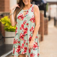 Spark Your Love Dress, Mint