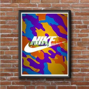 NIKE Supreme Full color Photo Poster 16x20 18x909