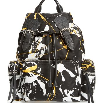Burberry Medium Rucksack Splash Print Nylon Backpack | Nordstrom