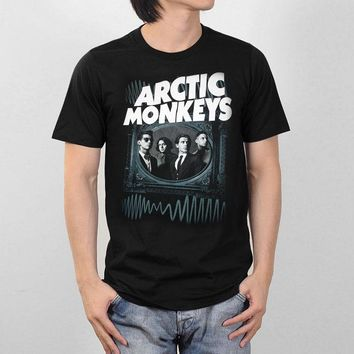 4282bae6 ARCTIC MONKEYS Men's Shirt Classic Retro Vintage Indie Post Punk