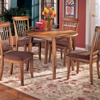 Ashley D199-15 Drop Leaf Table Set