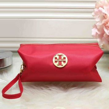 Tory Burch Women Fashion Leather Zipper Wallet Purse-5