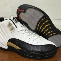 "Air Jordan 12 ""Chinese New Year"" 20 Anni AJ 12 Retro CNY Basketball shoes"