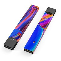 Skin Decal Kit for the Pax JUUL - Blurred Abstract Flow V5