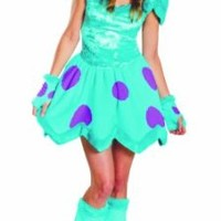 Disguise Disney Pixar Monsters University Sassy Sulley Womens Adult Costume, Blue/Purple, Large/12-14