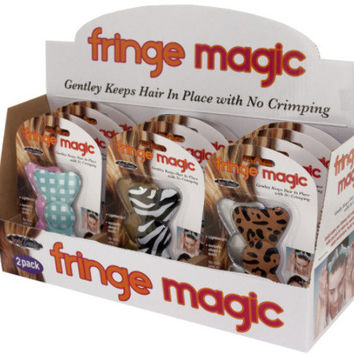 Fringe Magic Hair Bows Counter Top Display Case Pack 12