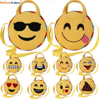 Maison Fabre Jasmine Cute Emoji Emoticon Shoulder School Child Bag Backpack Satchel Rucksack Dec2