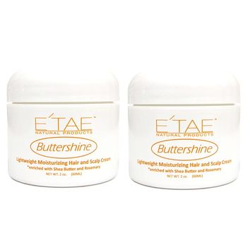 E'tae Natural Product Carmelux Butter Shine 2 Oz  PACK Of 2