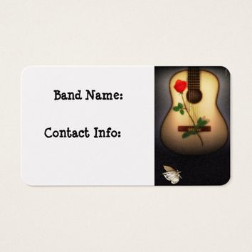 We Play Music Business Card
