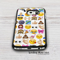 EMOJIS ARE GALS BEST FRIEND Samsung Galaxy S6 Case Cover for S6 Edge S5 S4 Case
