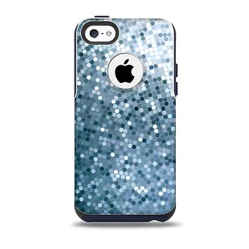 The Circle Pattern Silver Sequence Skin for the iPhone 5c OtterBox Commuter Case