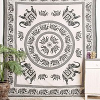 Indian Elephant Tapestry