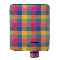 Modern Plaid Outdoor Folding Camping And Picnic Blanket Mat