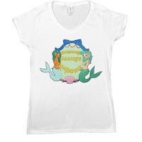 Mermaids Against Misogyny -- Women's T-Shirt