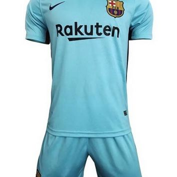 Fc barcelona third shirt+short 17/18