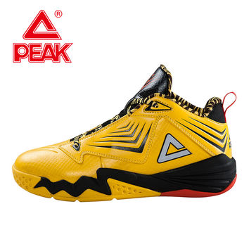 PEAK SPORT Monster II-III All-Star Authent Men Basketball Shoes Damping Wear FOOTHOLD Tech Breathable Athlet Sneakers Boots