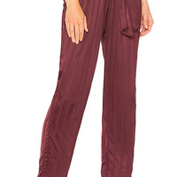 AMUR Shay Pant in Bordeaux | REVOLVE