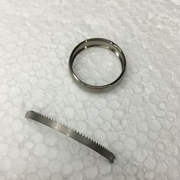 Titanium Escape Ring - Hides a Dual-Use Tool for Special Situations (11)