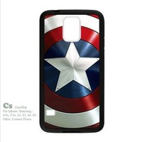 -captain america For Samsung Galaxy S5 i9600 Hard Case