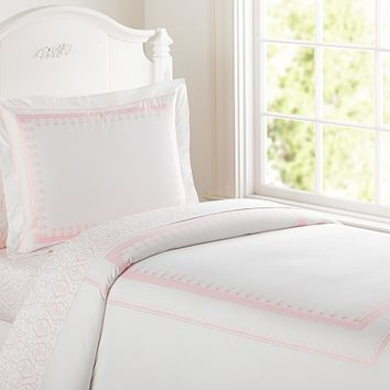 Embroidered Duvet Cover | Pottery Barn Kids