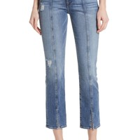 FRAME Le High Center Seam Ankle Straight Jeans (Sandpiper) | Nordstrom