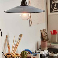 European Enamel Pendant Light