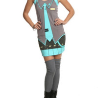 Vocaloid Hatsune Miku Costume Dress