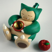 Snorlax Pipe MADE TO ORDER