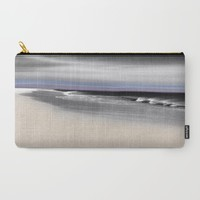 Lovely Twilight Seascape 2 Carry-All Pouch by Jen Warmuth Art And Design